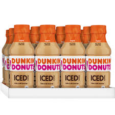 Dunkin Donuts Iced Coffee Original 137 Fluid Ounce Pack Of 12