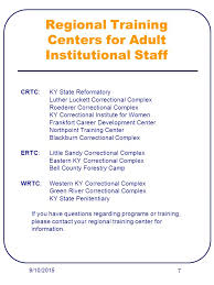Kentucky Personnel Cabinet Grievance by Corrections Training Kentucky Department Of Corrections Ppt Download