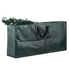 Elf Stor Premium Green Christmas Tree Bag Holiday Extra Large For Up To 9