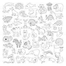 ▷Dibujos Para Colorear De Animales Para Niños Dibujos Para Colorear
