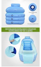 Portable Bathtub For Adults Singapore by Dhl Spa Pvc Folding Portable Plastic Bathtub For Adults