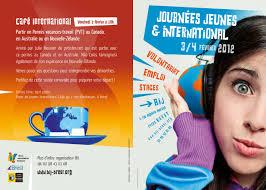 journées jeunes et international à brest 3 4 février 2012