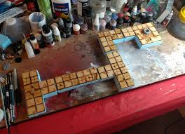 Making 3d Dungeon Tiles by Warhammer Quest 3d Board Warhammer Quest Silver Tower