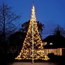 Fairybell Flagpole Christmas Tree Lights Lighting Seasonal Festive Holiday LED