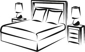 Bedroom Clipart by Headboard Bed Clip Art Vector Images U0026 Illustrations Istock