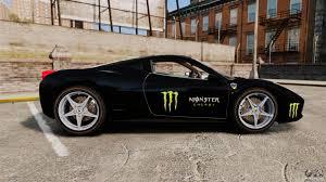 Ferrari 458 Italia 2010 Monster Energy For GTA 4 Ferrari 458 Italia 2010 Monster Energy For Gta 4 Truck V1 Bus V3 Lamborghini Aventador Lp7004 Truck Grand Theft Auto Iv Cheats Cop Els Dodge Ram 3500 Bigfut