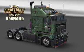 100 Euro Truck Simulator 2 Truck Mods Patch Kenworth K00 1 ETS Mods Truck Simulator Mods
