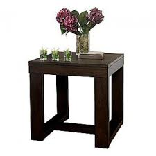 Traditional Dark Brown Norcastle Sofa Table by Norcastle End Table Round