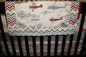 Airplane Crib Bedding Vintage Airplane Baby Crib Bedding Aviator
