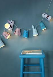 Sweet Paper Cup Light Garland Easy To Make