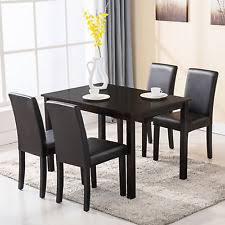 4 Piece Dining Room Sets by Modern Dining Room Set Table 4 Chairs Kitchen Dinette Breakfast