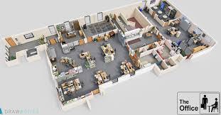 Cool 3D TV Show Floor Plans of Your Favorite TV fices