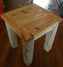 Build End Table Will Add Character And A Natural Aspect To Your Living Space Also Can Be Used As Nightstand Features Sturdy Solid Wood Legs