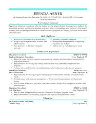 Example Resume From ResumeHelp