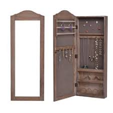 Mirrored Jewelry Box Armoire by Jewelry Armoires Jewelry Cabinets Sears