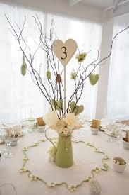 Jug Centrepiece Paper Flowers Twigs Sage Green Cream Homemade Knitted Wedding