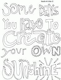 Great Quote Coloring Pages 19 In For Kids With