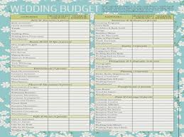 Wedding Budget Checklist Excel Spreadsheet