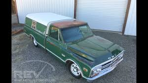 1969 GMC C20 Bagged Longbed - YouTube