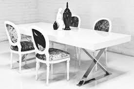 X Leg Dining Table