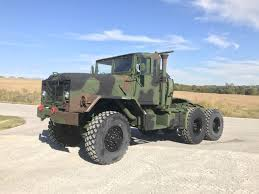 100 6x6 Military Truck BMY 5 Ton M931A2 MILITARY SEMI 6X6 Midwest Equipment