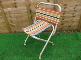 Original Retro Folding Chair Ideal For Festivals | In Newcastle, Tyne And  Wear | Gumtree