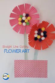 Flower Art For Kindergarten