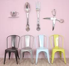 large wooden fork and spoon wall hanging large spoon and fork with aluminium material and kitchen