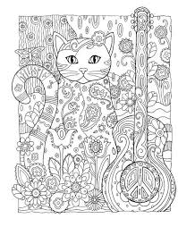 Creative Cats Coloring Book Marjorie Sarnat Dover Coloring