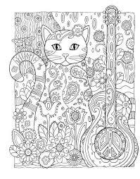 Creative Haven Cats Coloring Book Marjorie Sarnat