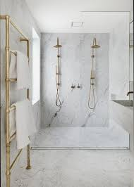 marble and gold bathroom modernes badezimmerdesign