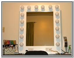 Diy Vanity Desk With Lights vanity table lights around mirror home design ideas