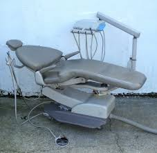 Marus Dental Chair Foot Control by Adec Cascade 1040 Patient Chair W Traditional Unit Pre Owned