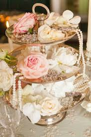 Chic And Pretty Floral Wedding Centerpiece
