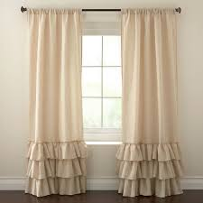 Brylane Home Curtain Panels by Rory Ruffled Rod Pocket Window Panel Curtains U0026 Drapes Brylanehome