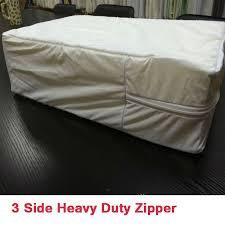 heavy duty waterproof bed mattress protector cover plastic sheet