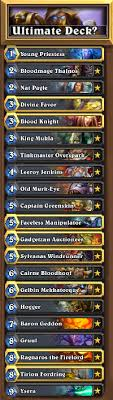 priest deck hearthstone starting 1 six steps to an ultimate deck
