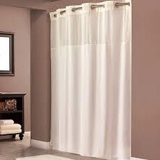 Bathroom Curtains At Walmart by Hookless Beige Polyester Shower Curtain Walmart Com