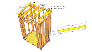 how to build a 8 8 shed roof myoutdoorplans free woodworking