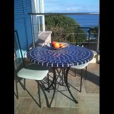 table ronde mosaique fer forge 32 best tables en mosaïque et fer forgé images on