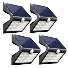 InnoGear 2nd Version 14 LED Solar Lights with Rear Projection