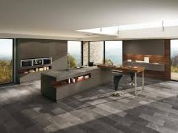 Contemporary Kitchen Islands With Dining Area