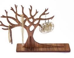 Wooden Jewellery Display Tree