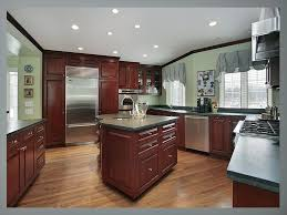 Kitchen Color Ideas With Cherry Cabinets Kitchen Colors With Cherry Cabinets And Stainless Combo