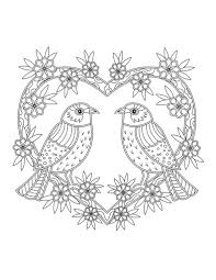 5 Weekly Printable Coloring Pages For Adults