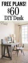 Diy Sewing Cabinet Plans by Best 25 Woodworking Desk Plans Ideas On Pinterest Build A Desk