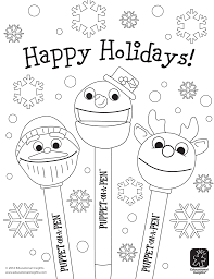 Free Happy Holiday Coloring Pages New Holidays Glum Me For