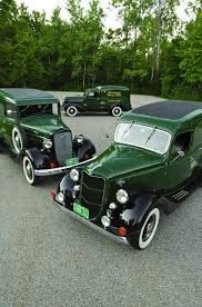 Three Of A Kind - 1936 Chevrolet, Dodge And Ford Pane - Hemmings ...