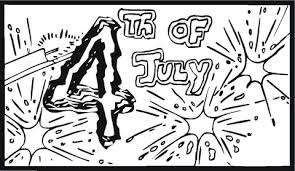 Click To See Printable Version Of Fourth July Big Fireworks Coloring Page