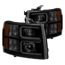 2014 chevy silverado custom factory headlights carid